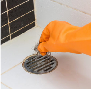 clogged drains and pipes