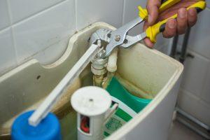 toilet - tank repair